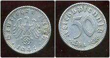 ALLEMAGNE  WW II     50 reichspfennig  1941 A