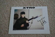 Sean crawford signed autógrafo en persona 20x25 cm xtro Commando Tok