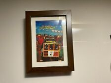 """San Francisco Cable Car Art Print with IKEA """"RIBBA"""" Wooden Frame+Glass Protector"""