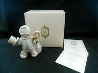 Luxurious Lenox The Gingerbread Gentleman Gingerbread Man Figure New in Box 2s18
