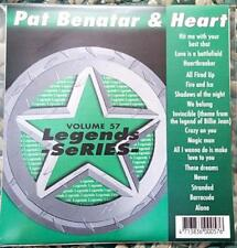 LEGENDS KARAOKE CDG PAT BENATAR & HEART 1980'S OLDIES ROCK #57 16 SONGS CD+G