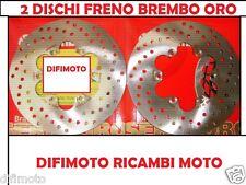 2 DISCHI FRENO BREMBO ANT/POSTER MALAGUTI MADISON 125 BLACK RIDER '2003 68B40735