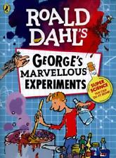 Roald Dahl's George's Marvellous Experiments by Jim Peacock (illustrator), Mi...