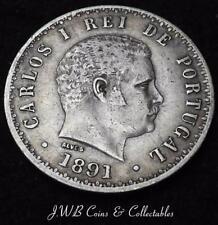 1891 Plata 500 reis moneda de Portugal