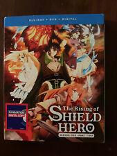 The Rising Of The Shield Hero Season One Part Two Blu ray + DVD + Digital New