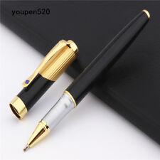 High quality Jinhao 9009 Gold black Business office Medium Nib Rollerball Pens