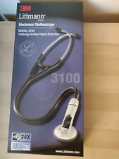 3M Littman Electronic Stethoscope Model 3100