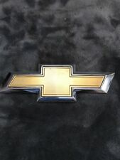 GM 84003919 Chevy Chevrolet Camaro Emblem Name Plate Bow Tie Chrome Gold Used