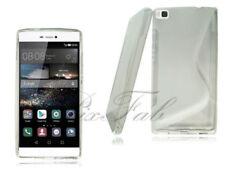Carcasas Para Huawei P8 color principal transparente para teléfonos móviles y PDAs