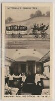 1837 1st Class Compartment And 1937 1st Class Dining Car 80 Y/O Trade Ad Card