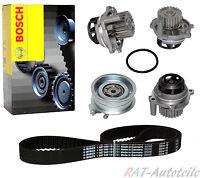 Zahnriemen Bosch+Wasserpumpe+SpannrolleI Zahnriemensatz Audi Seat Skoda VW