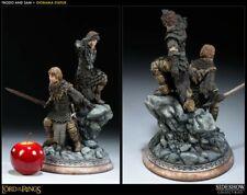 Sideshow Weta Herr der Ringe Frodo und Sam Statue LOTR - Sehr guter Zustand