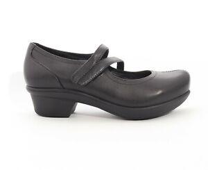Abeo 24/7 Cameo Mary Jane Slip Resistant Black Women's 8 ()