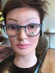 1.50 Eyebobs Mathelete Graphite Gray New Readers Reading Glasses