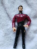 Star Trek The Next Generation William Riker Action Figure 1992 Playmates Toys