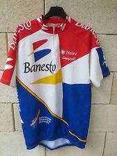 VINTAGE Maillot cycliste BANESTO Tour France 94 INDURAIN camiseta DELGADO 6 XXL