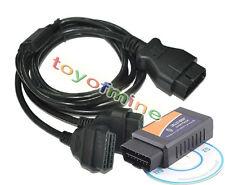 ELM327 OBD?Bluetooth auto diagnostica Scanner+OBD2 divisorio Y convertitore cavo