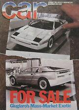 CAR 12/1984 featuring Alfa Romeo GTV6, Ford Capri 2.8i, Peugeot 205 GTi, XR2, MG