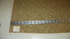 Beige Tan Chenille Print Upholstery Fabric 1 Yard R102