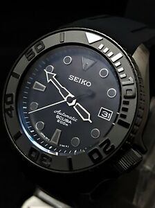 SKX007 Divers Watch SII NH36 Hack Movement Sapphire Ceramic PVD *GHOST Mod