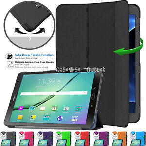 SMART Magnetic Flip Stand Case Cover For Samsung Galaxy Tab For S2 9.7 T810 T815