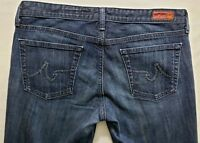 AG Adriano Goldschmied The Club Womens Denim Blue Jeans Size 31 x 34 Boot Cut