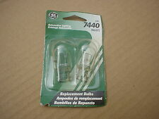GE 7440 7440/BP2 REPLACEMENT BULBS FOR IMPORT VEHICLES  TURN  BACK UP STOP