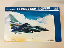 Trumpeter 1/72 01611 Chinese J-10 Fighter Plastic Model Aircraft Kit