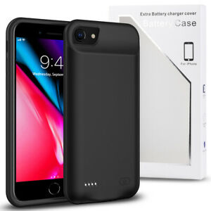 For iPhone SE 2020/6/6s/7/8 Plus Battery Case Charging Cover Power Bank Charger