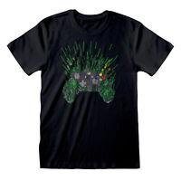 X-BOX Controller T Shirt Official NEW Gaming Gamer Game Paint Splatter Dripping