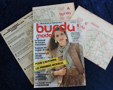 BURDA MODEN - Août 1982 - Complet des Patrons