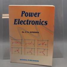 Power Electronics by P. S. Bimbhra 2005 dq