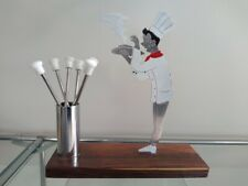 French Art Deco SUDRE Chef Cocktail Sticks Picks Barware