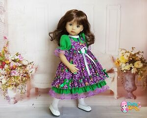 """Purple dress doll Little Darling, Dianna Effner 13"""" doll, suitable for Paola"""