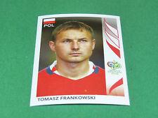 70 TOMASZ FRANKOWSKI POLSKA PANINI FOOTBALL GERMANY 2006 WM FIFA WORLD CUP