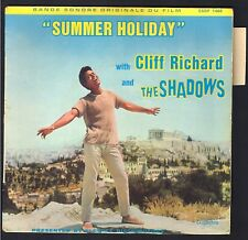CLIFF RICHARD SUMMER HOLIDAY BO FILM Beau EP 45T COLUMBIA ESDF 1468