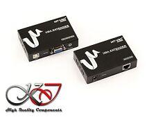 Extender VGA + AUDIO - 50M - Avec Fonction SPLITTER 2 sorties
