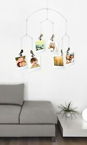 Hanging Photo Mobile with Little Birds - Hang up to 12 photos!