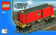 LEGO 7939-3 Cargo Container Wagon SPLIT From 7939 City Cargo Train Set NEW