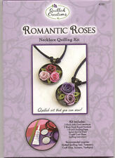 Quilling kit Romantic Roses Necklace/Jewelry #280 Makes 2 Complete NIP