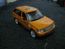 Range Rover Sport Orange Kinsmart 1/38 Scale