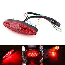 Red 15 LED Brake Stop Tail Rear Light Lamp 12V For Motorcycle ATV Dirt Bike DH