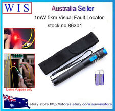 1mW 5km Visual Fault Locator Fiber Optical Laser Cable Tester 650nm VFL NBN86301