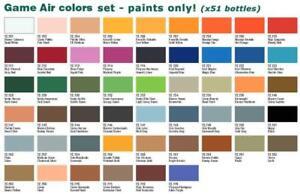 Vallejo Game Air - Drip Tip - Various Colors