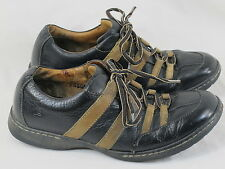 BORN Black & Brown Leather Hand Crafted Oxford Shoes 9.5 D US Excellent EUR 43