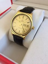 VINTAGE OMEGA GENEVE MECHANICAL AUTOMATIC MEN'S CLASSIC WATCH (SERVICED)