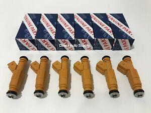 6pcs New OEM Fuel Injectors For BOSCH 87-98 JEEP 4.0L 0280155710