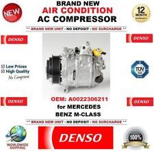 DENSO ARIA CONDIZIONATA COMPRESSORE AC OEM: a0022306211 per Mercedes Benz Classe