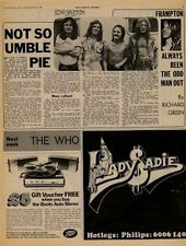 Humble Pie UK Interview + 10cc Hotlegs Lady Sadie ad 71