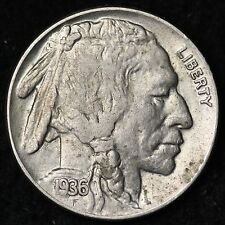 1936 Buffalo Nickel CHOICE AU+ FREE SHIPPING E184 AM